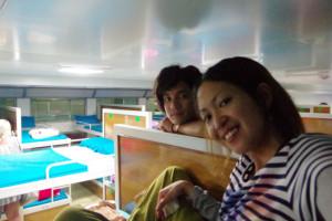 タオ島→スラタニ行きのナイトボート/世界一周わくわく教室