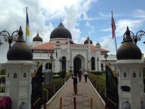 ペナン島のイスラム教モスク/世界一周わくわく教室