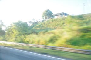 プルフンティアン島・クアラブス行きバスで見た朝日