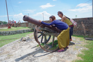 ペナン島のコーンウォリス要塞/世界一周わくわく教室