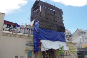 ペナンのスリ・マハ・マリアン寺院/世界一周わくわく教室