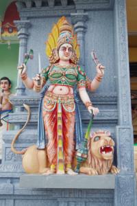 ペナンのヒンドゥー教寺院/世界一周わくわく教室