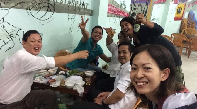 ハノイからベトナムの奈良、フエへ!