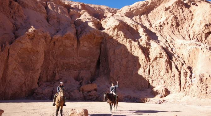 アタカマで初めての乗馬体験♪〜自然の力ってすごい!〜