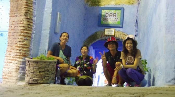 青い街シャウエンは最高におしゃれ♪〜モロッコバス事情もちょっと載せます〜