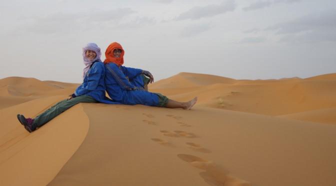 サハラ砂漠の広大さに驚く〜ラクダは楽じゃなかった〜【前編】