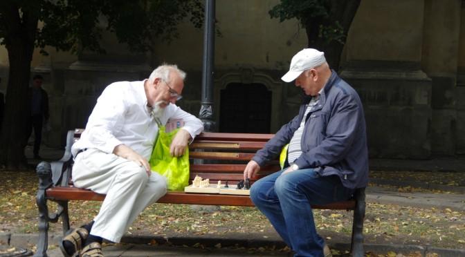 リヴィブの旧市街を観光〜念願のボルシチ食べたー!!〜