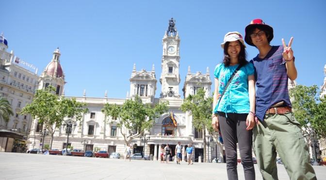 トマティーニャでの死闘の後、バレンシア観光