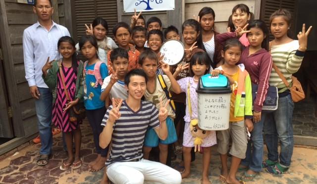 僕にとってカンボジアでの活動はボランティアではなかった!〜加藤くんの挑戦〜