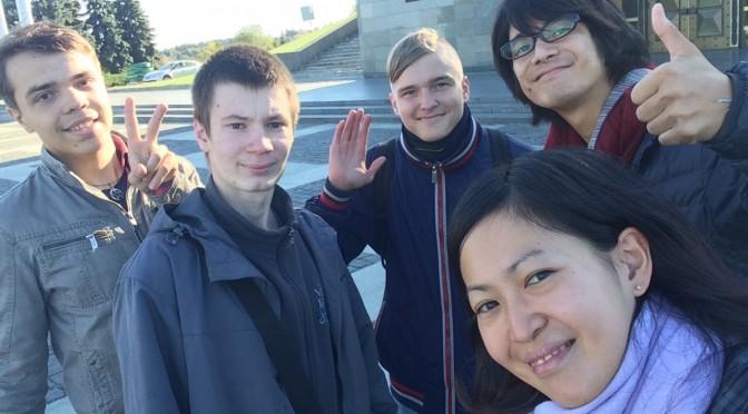キエフにある大祖国博物館に行ってきたー〜キエフの学生との出会い〜