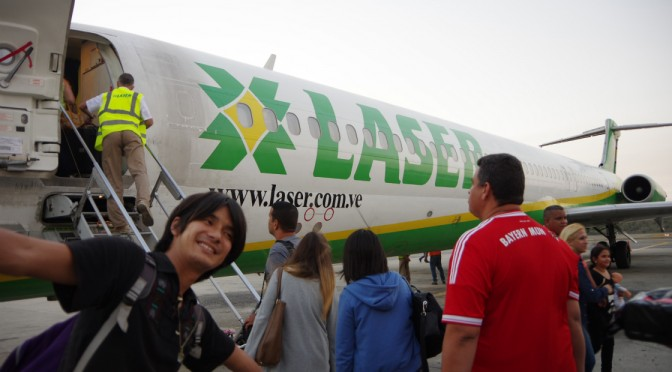 マルガリータ島からメリダへ飛行機で一気に移動♪
