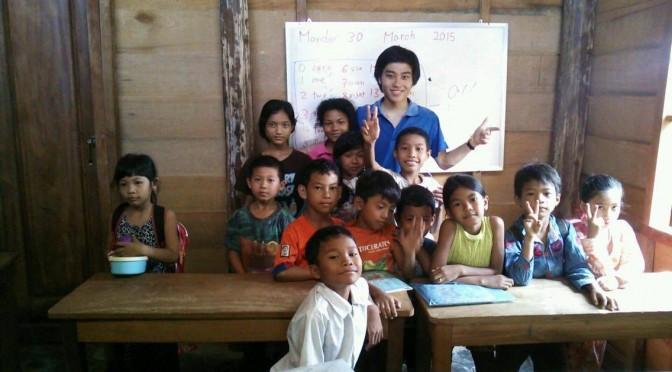 将来は教師に!!カンボジアに行くと多くの今まで知らなかった体験が待っていた!