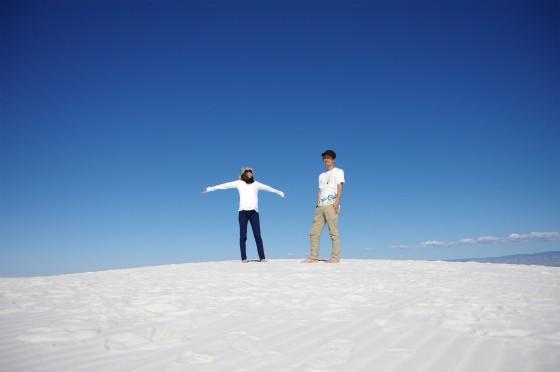 アメリカ横断キャンピングカーの旅・16日目〜白い砂漠、ホワイトサンズ〜