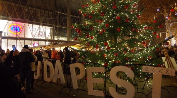 ブダペストのクリスマスマーケットに行ってきた!