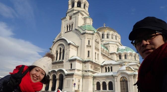 ブルガリアのソフィア観光〜極寒の街歩き〜