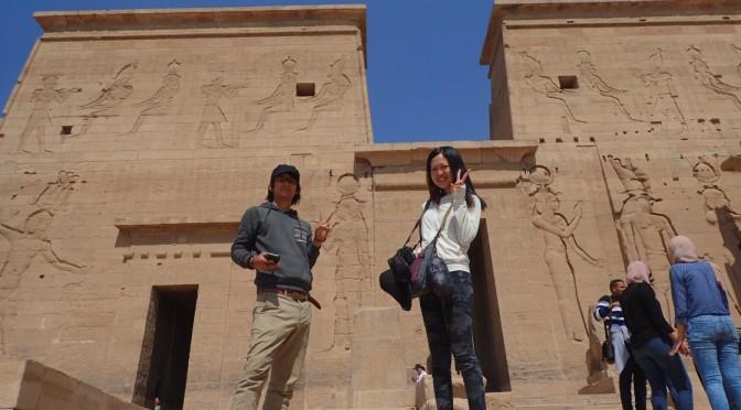 アスワンのイシス神殿に行ってきた〜アスワンからカイロ、アレキサンドリアへの大移動〜
