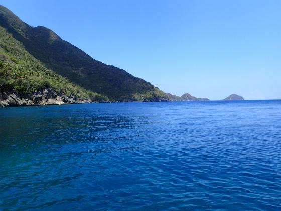 ロンブロンのキレイな海