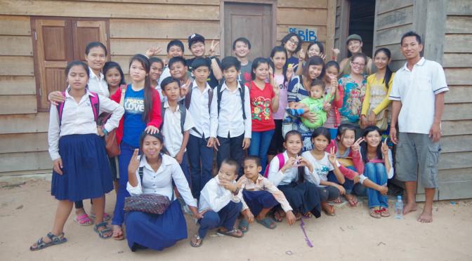 カンボジアのシェムリアップにあるアンコールツリースクールで日本語を教えるボランティア大募集!!