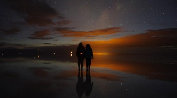 天国と地獄!?夜のウユニ塩湖♪〜幻想的な世界へ〜