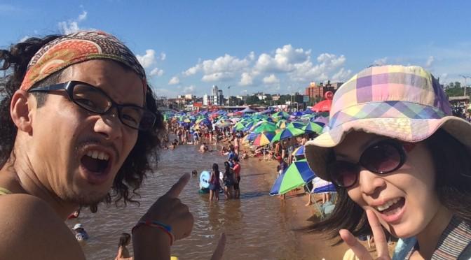海なし国パラグアイで海水浴!?そして、とっても嬉しいお知らせ♪