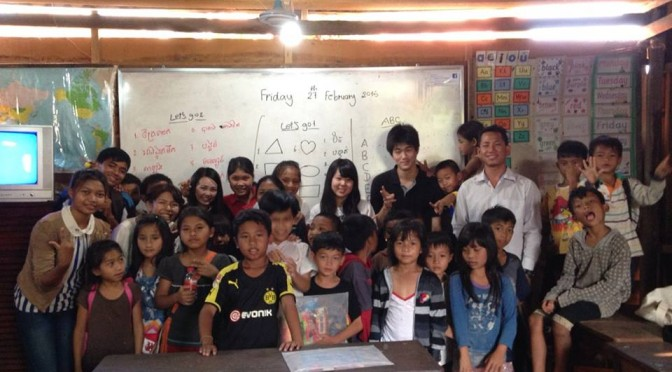 なぜ教師になりたいと思ったの??答えを見つけにカンボジアへ!!