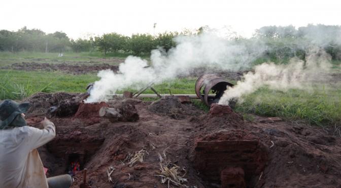 弓場農場で炭作り〜子どもの体験活動としての可能性を感じる〜