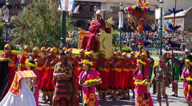 南米三大祭り、インティライミに行ってきた!!