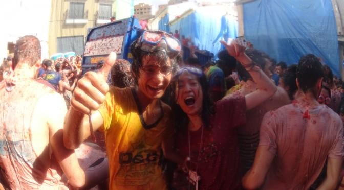 スペインのトマト祭り(トマティーナ)に行ってきた!!〜一生に一度は参加してみたい祭り!!〜