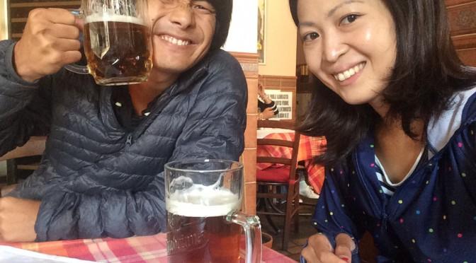 二人オクトーバーフェストinチェコ。大盛り上がりの1日 笑