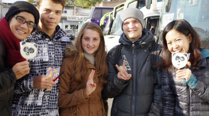 キエフからワルシャワへ〜あの学生たちとまたまた再開〜