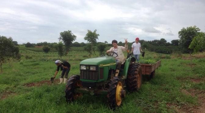 弓場農場で植林と炭作りを体験してきた!!〜協力してくれた弓場のみなさんありがとうございます〜