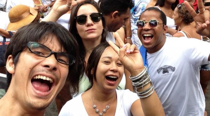 まるでカーニバル本番!!サルバドールのボンフィン祭り〜太鼓のチューニングとバチ作りやりました〜