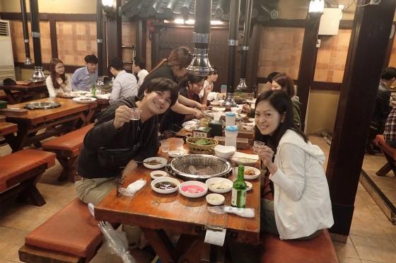 釜山のおいしーーい韓国料理とお酒♪