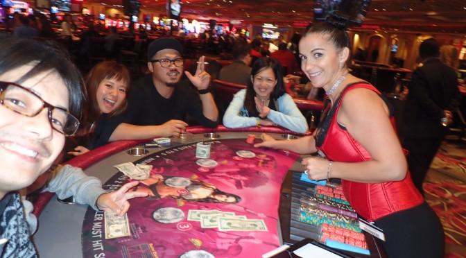 アメリカ横断キャンピングカーの旅・8日目〜ラスベガスでカジノ&バグダットカフェ〜