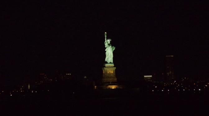 最後のマンハッタン観光!!自由の女神を見てきたー!!