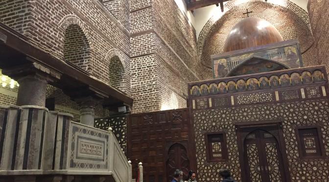 カイロの中の異世界、コプト教の教会を見てみた!