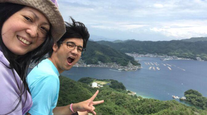 広島県江田島市の天狗岩に行ってきた
